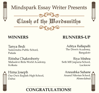 Essay Writing Competition Winners